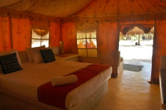 Luxury Beach Tent, Dolphin Beach